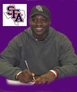 Clark signs with Stephen F. Austin State University