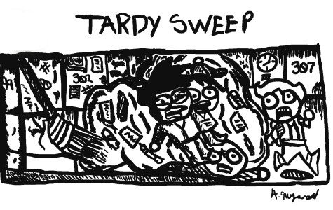 Tardy Sweeps Too Intense?