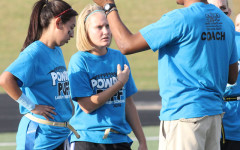 Blue Team comes out on top in Powder Puff game