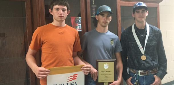 Welding Fab heads to Nationals