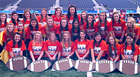 Panther Pride Performs at Cotton Bowl