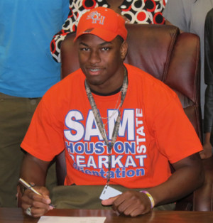 Lewis Signs with Sam Houston