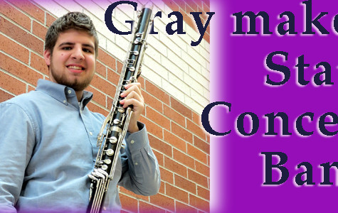 Gray makes State Concert Band