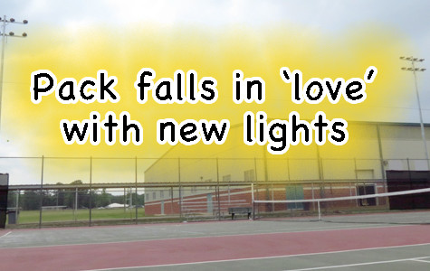 Panthers 'love' new lights