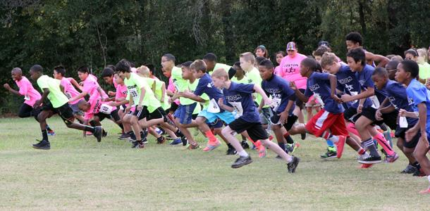 Cross Country Team Hosts Run On Panthers