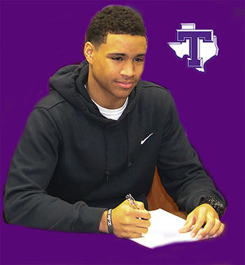 Johnson signs with TJC