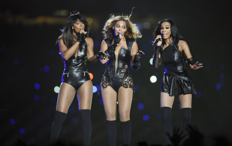 Beyonce and a reunited Destiny's Child performs during halftime of Super Bowl XLVII at the Mercedes-Benz Superdome in New Orleans, Louisiana, Sunday, February 3, 2013. (Lionel Hahn/Abaca Press/MCT)