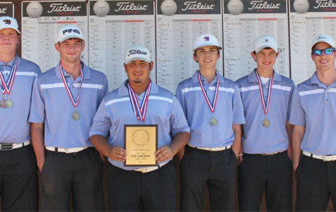 Varsity Golf runs away with District Title