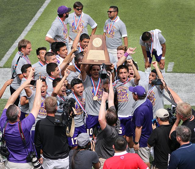 Boys Soccer State Tournament 2015