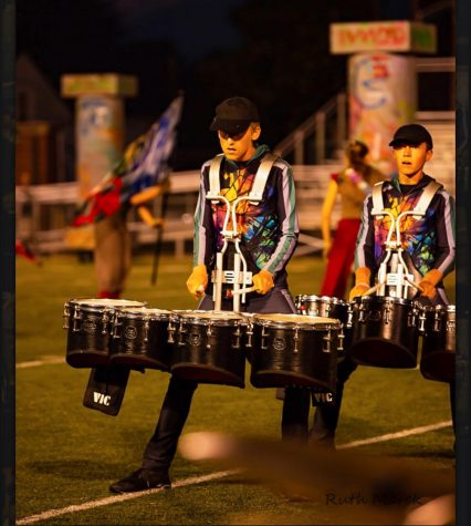 Panther Band drummer fulfills dream by performing with Drum Corps International