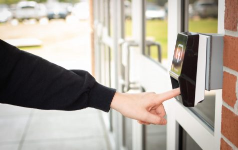 High school to start using fingerprint scanners at entrances in the next few days