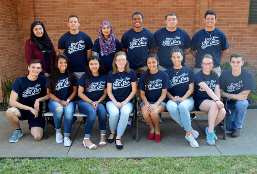 Lufkin High School's 14 Drug-Free All Stars try to reduce drug use by peers