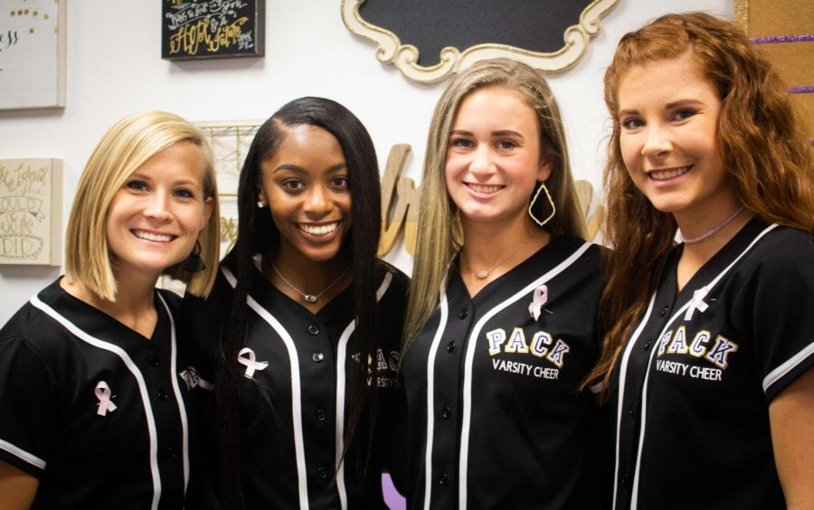 Cheer squads, Panther Pride asking Pack fans to participate in Susan G. Komen fundraiser