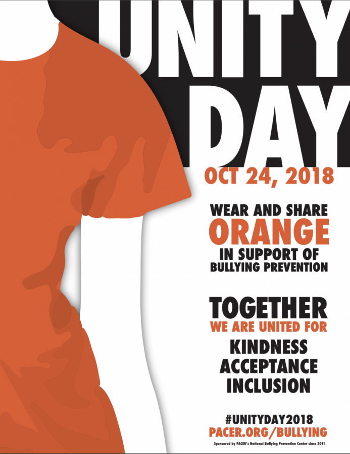 Orange shirts encourage Lufkin High School to stand out against bullying
