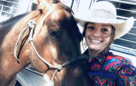 Senior FFA member qualifies for finals of barrel racing series