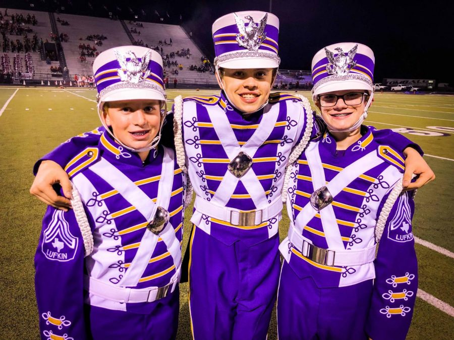 Panther Band members strive to excel in both band and in the pool