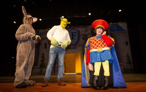 Going Green: Theatre Department presents 'Shrek the Musical' tonight and Saturday