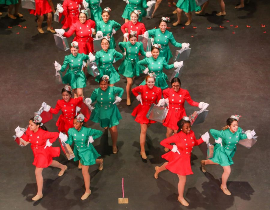 Panther Pride, JV Drill present all-new Christmas Spectacular show Friday night