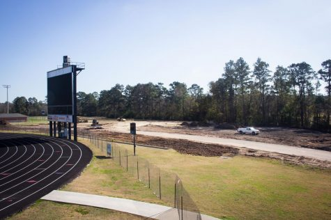 Construction crews have begun building Lufkin High School