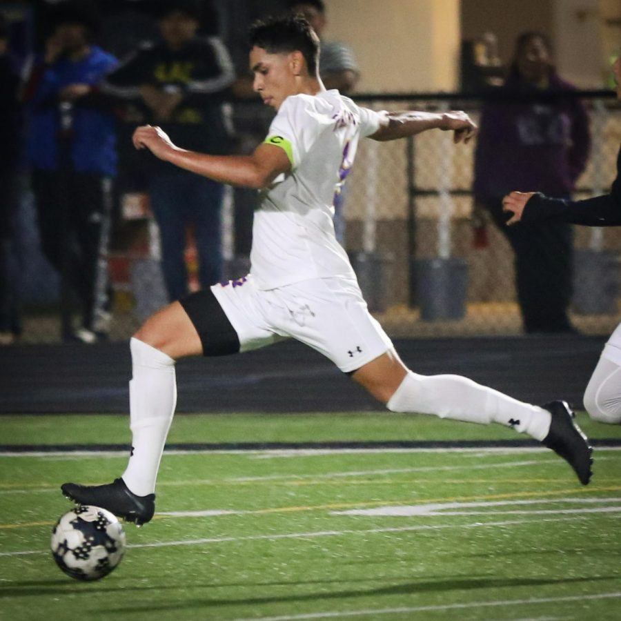 Flores scores hat trick in Pack's district soccer win over Nacogdoches