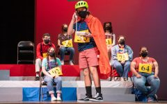 Theatre students presenting 'The 25th Annual Putnam County Spelling Bee'